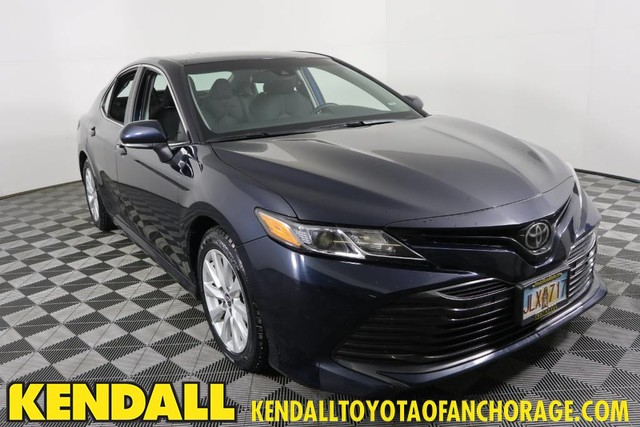 2018 Toyota Camry Le >> Pre Owned 2018 Toyota Camry Le Front Wheel Drive Sedan