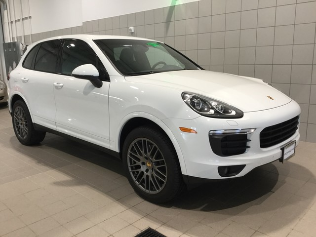 Pre Owned 2017 Porsche Cayenne Platinum Edition