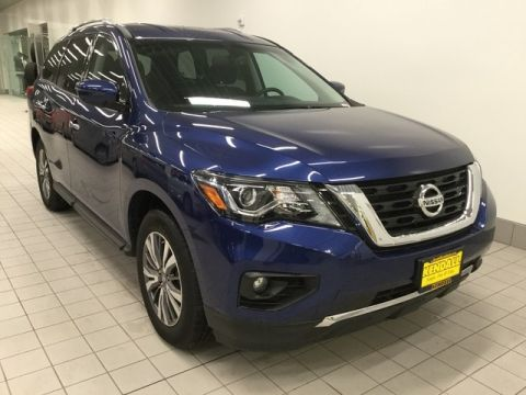 Pre-Owned 2018 Nissan Pathfinder SV Four Wheel Drive SUV