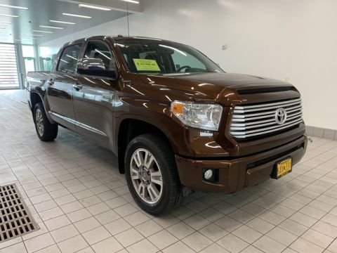 Pre-Owned 2017 Toyota Tundra 4WD Platinum Four Wheel Drive Short Bed