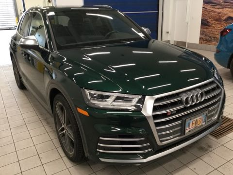 Certified Pre-Owned 2018 Audi SQ5 Premium Plus